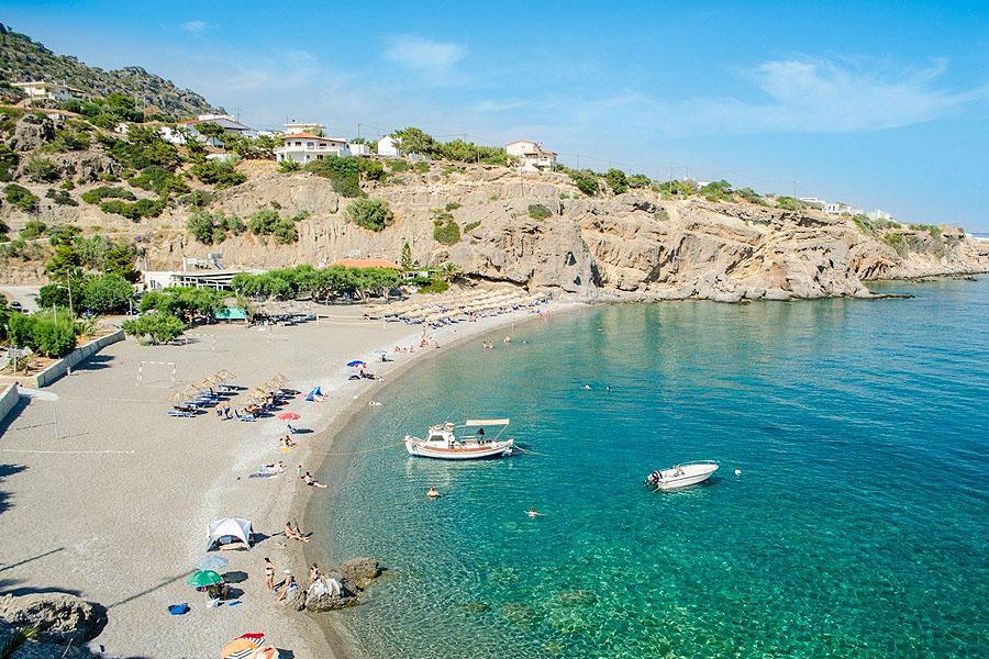 achlia beach crete