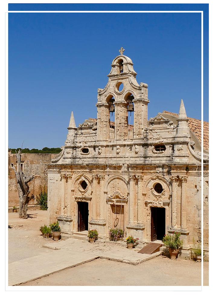 villa maria crete arkadi monastery